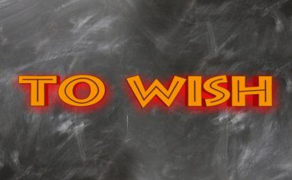 to wish