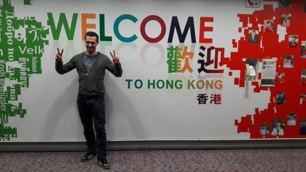 aéroport Hong Kong debuterlanglais.com