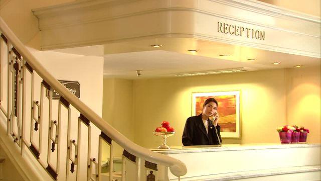 réserver une chambre d'hôtel en anglais
