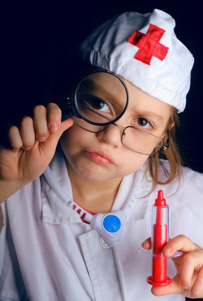 ambulance de docteur en anglais