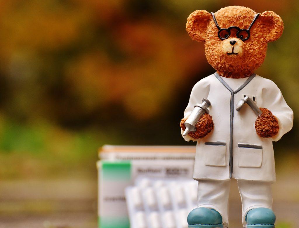 papa ours docteur en anglais