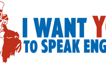 parler en anglais