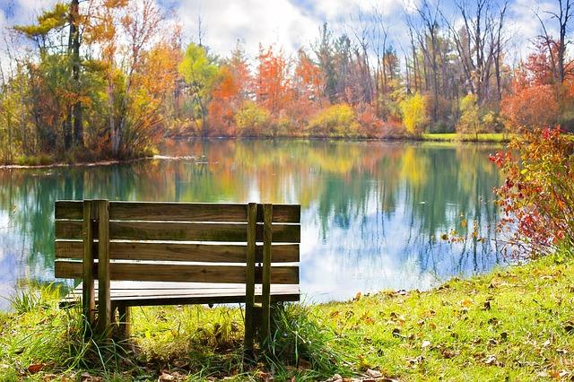 Saison d'automne parler du temps en anglais