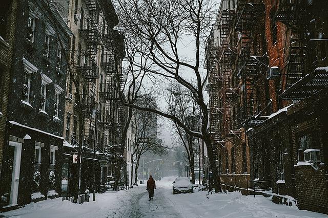 Hiver neige temps en anglais