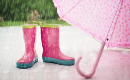 La pluie temps en anglais