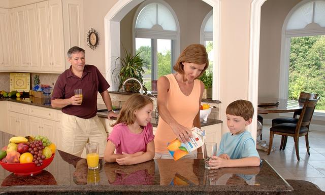 phrases en anglais family dinner