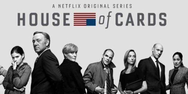 House of cards série anglais débutant